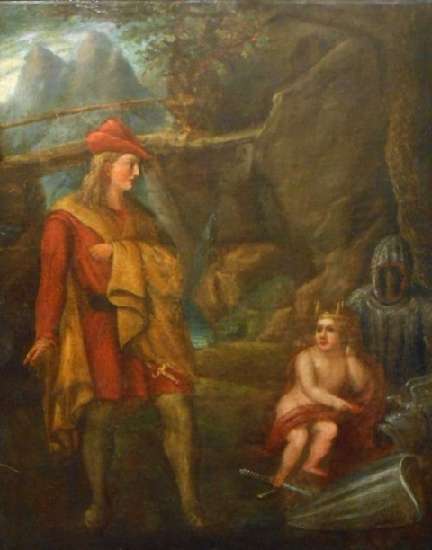 Merlin And Arthur 18th Century