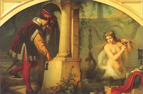 Melusine  Julius Hübner 1844