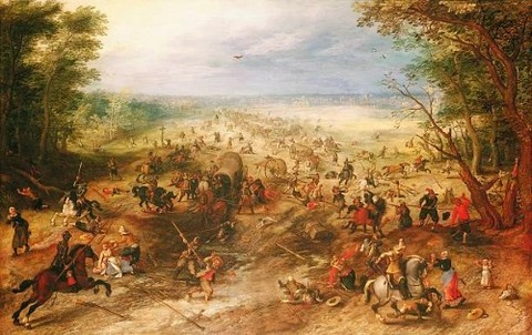 Jan Brueghel the Elder and Sebastian Franck