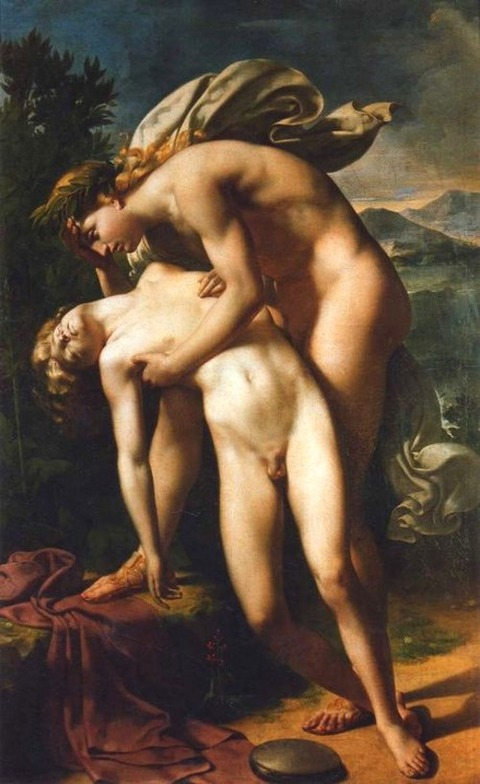 Apollo and Hyacinth by Merry-Joseph Blondel