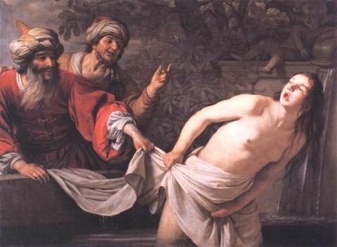 HONTHORST, Gerrit van Susanna and the Elders