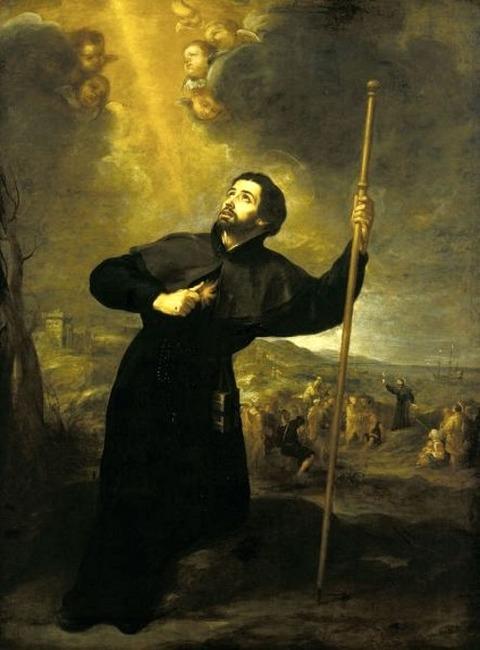 Bartolomé Esteban Murillo, Saint Francis Xavier, 1670
