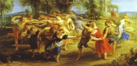 ルーベンス A Peasant Dance (1636-40) -