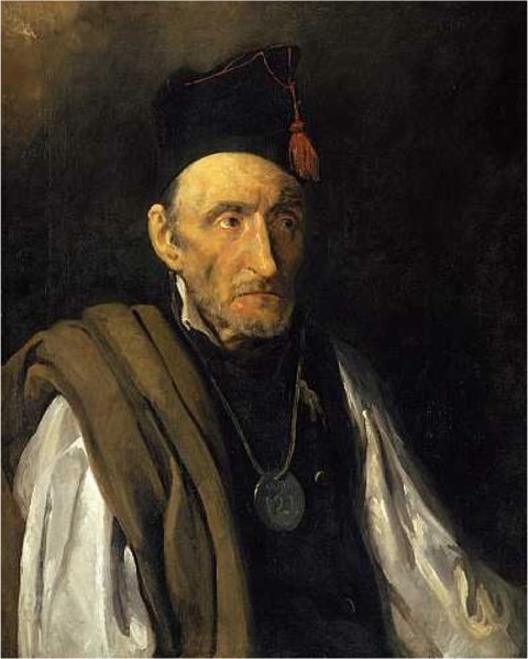 Gericault, man suffering from delusions of military rank