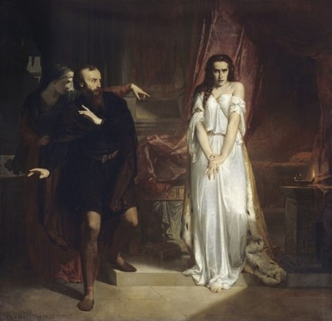 Lady Macbeth by Charles Louis Muller