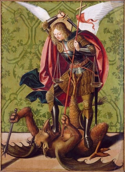 Lieferinxe, josse_st michel et le dragon