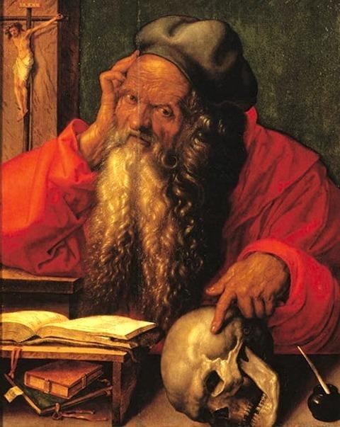 Albrecht Dürer Saint Jerome 1521