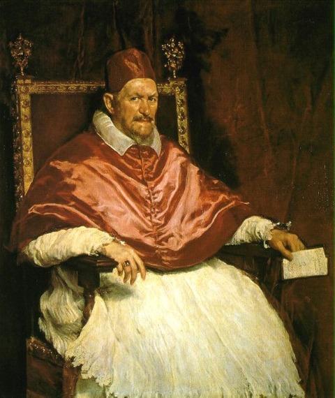Portrait of Innocent X Oil 1650