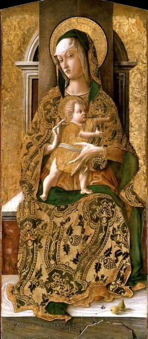 Madonna and Child Enthroned 1472