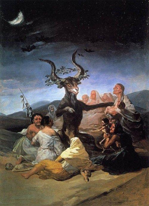 悪魔の絵画サバト