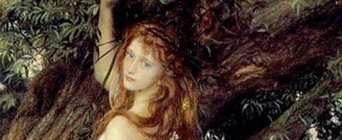 Ophelia di Arthur Hughes, 1863 -