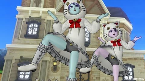 白ネコ肉球