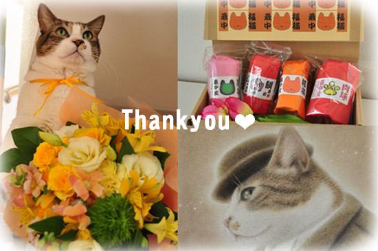 お気遣い頂きありがとうございました。