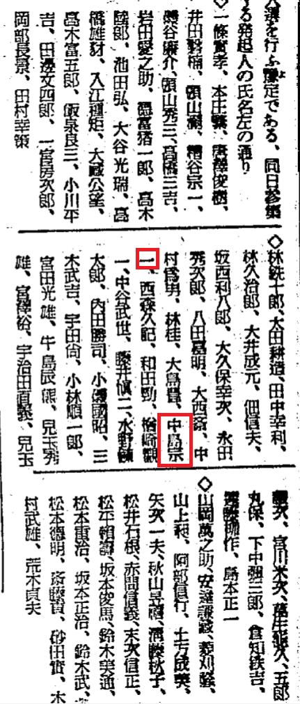 大日本興亜同盟発起人