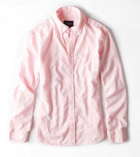 AEOソリッドコットンリネンシャツ 3,192円