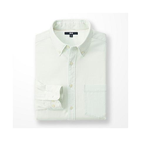 ユニクロ 白シャツ