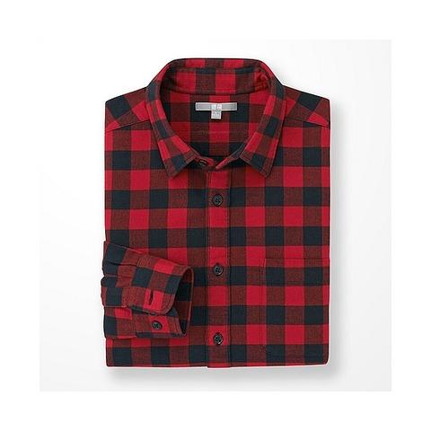 ユニクロ レッドシャツ