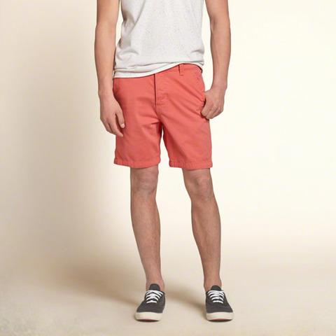 Hollister Beach Prep Fit Shorts Pink 4490