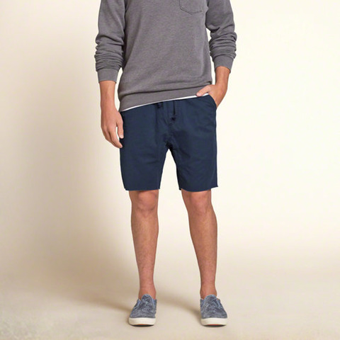 Hollister Twill Jogger Shorts 4490