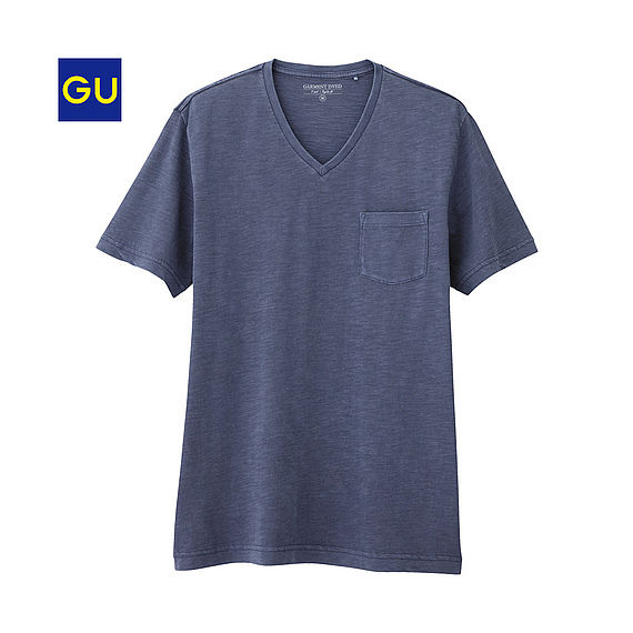 9cb342b7f325 アイテム紹介】GU(ジーユー)のTシャツ 2016年・春/夏 : メンズファスト ...