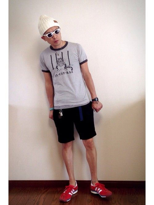 7ebc5404f14 GU(ジーユー)のファッションスナップ No.4 夏 : メンズファスト ...