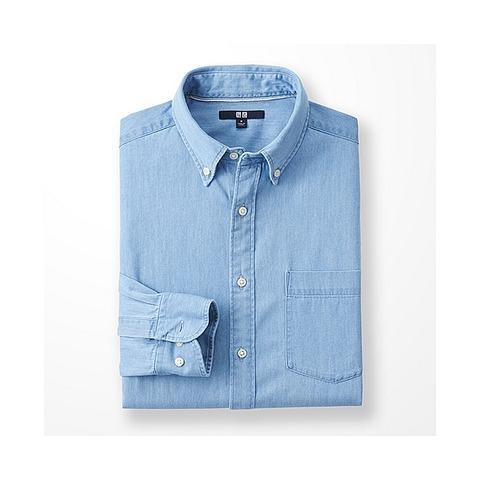 デニムシャツ(長袖) 2990