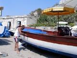 タオルミーナのビーチ1