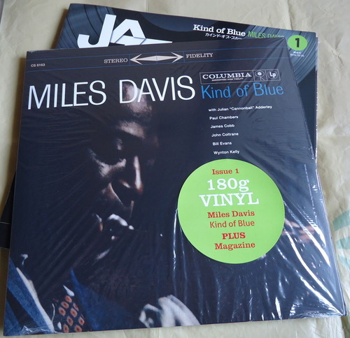 JAZZ LP RECORDS COLLECTION Kind of Blue