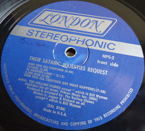 THE ROLLING STONES/THEIR SATANIC~ 米Bell Sound-3