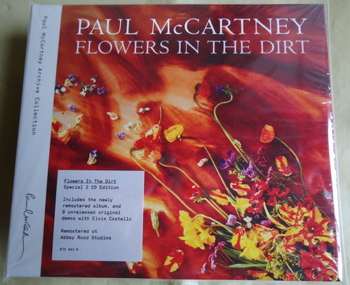 PAUL McCARTNEY/FLOWERS IN THE DIRT Special 2CD Edition