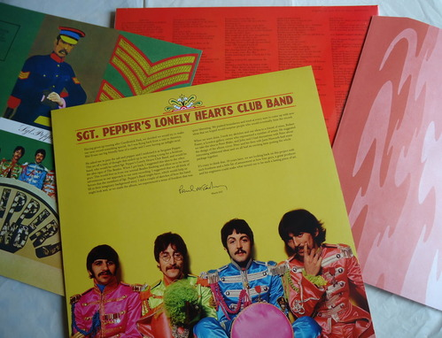THE BEATLES/SGT. PEPPER'S LONELY HEARTS CLUB BAND 50th 2LP-2