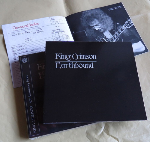 KING CRIMSON/Earthbound 40th Anniversary Series