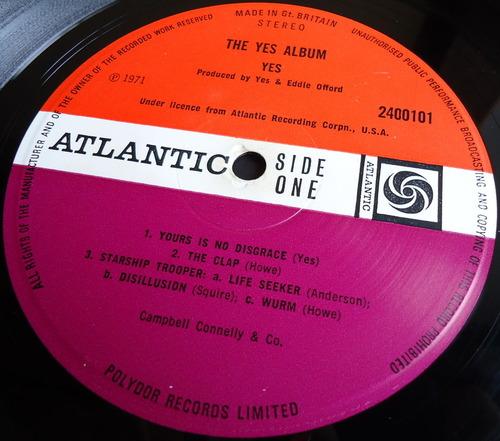 THE YES ALBUM UK ATLANTIC SUPER 2400101-2