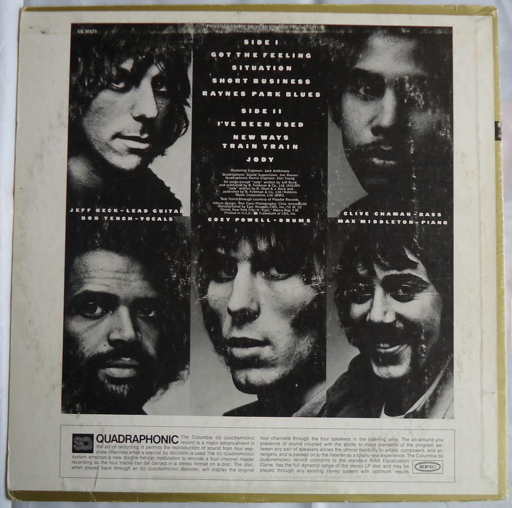 Jeff Beck Group Album 110