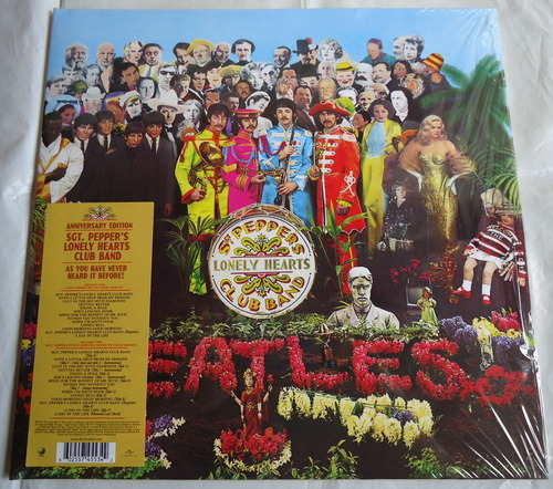 THE BEATLES/SGT. PEPPER'S LONELY HEARTS CLUB BAND 50th 2LP-1