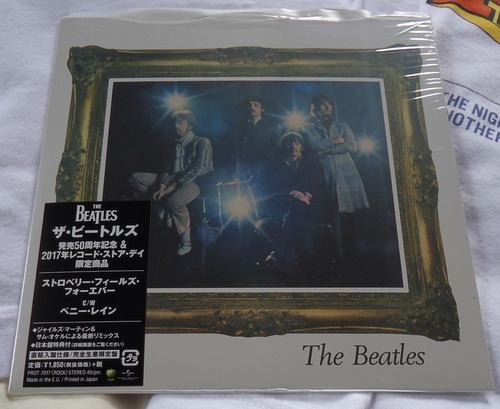 THE BEATLES/Strawberry Fields Forever 2017年RSD限定シングル-1
