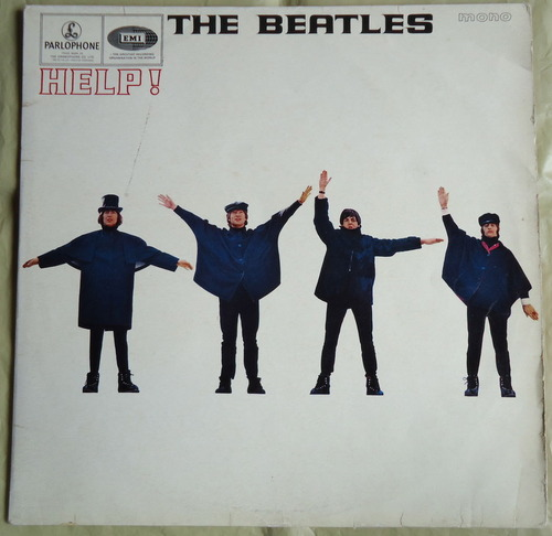 THE BEATLES HELP! UK MONO PMC 1255 MAT -2/-2-1