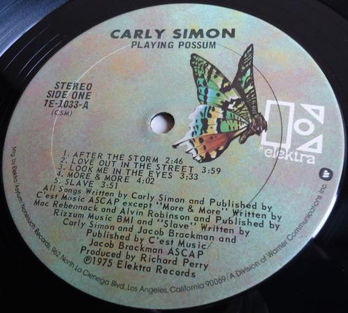 CARLY SIMON/PLAYING POSSUM//THE BUCKINGHAMS/PORTRAITS-2