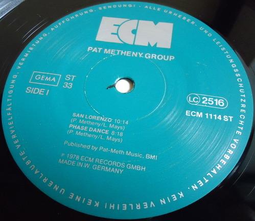 PAT METHENY GROUP GERMANY ECM 1114-2