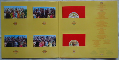 THE BEATLES/SGT. PEPPER'S LONELY HEARTS CLUB BAND 50th SDE-3