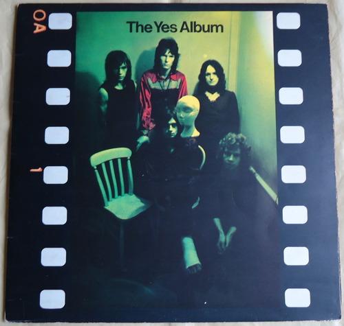 THE YES ALBUM UK ATLANTIC SUPER 2400101-1