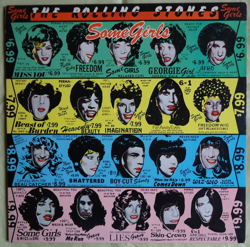 THE ROLLING STONES/SOME GIRLS 米盤 COC39108-1