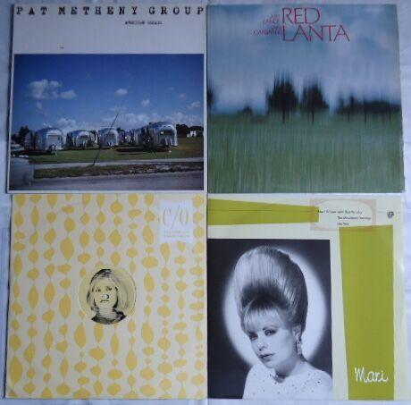 PAT METHENY, ART LANDE & JAN GARBAREK, MARI WILSON, VIRNA LINDT
