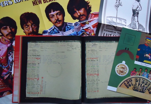 THE BEATLES/SGT. PEPPER'S LONELY HEARTS CLUB BAND 50th SDE-4