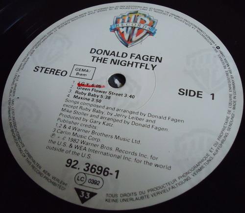 DONALD FAGEN The Nightfly Germany-2