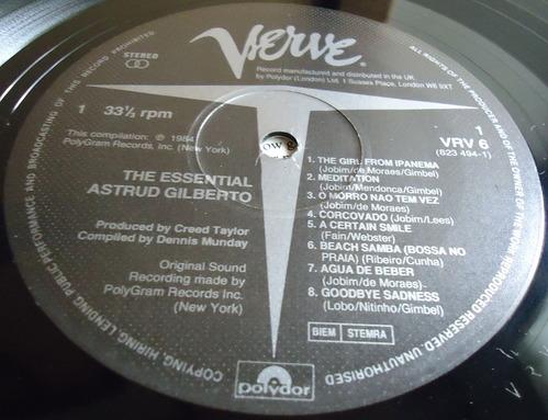 THE ESSENTIAL ASTRUD GILBERTO VERVE VRV6-2