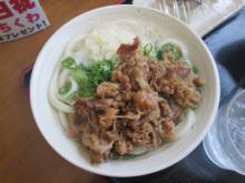 たも屋 林店:肉うどん&鯖寿司