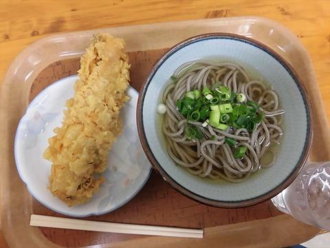上原屋本店【6回目 かけそば&太刀魚天】