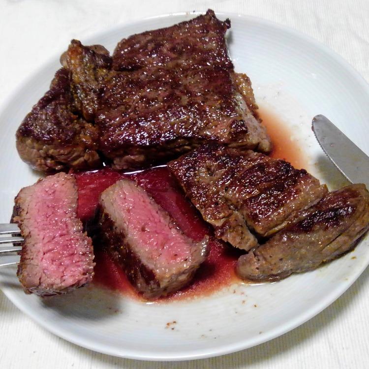 【画像有】うっまいステーキの焼き方教えたる