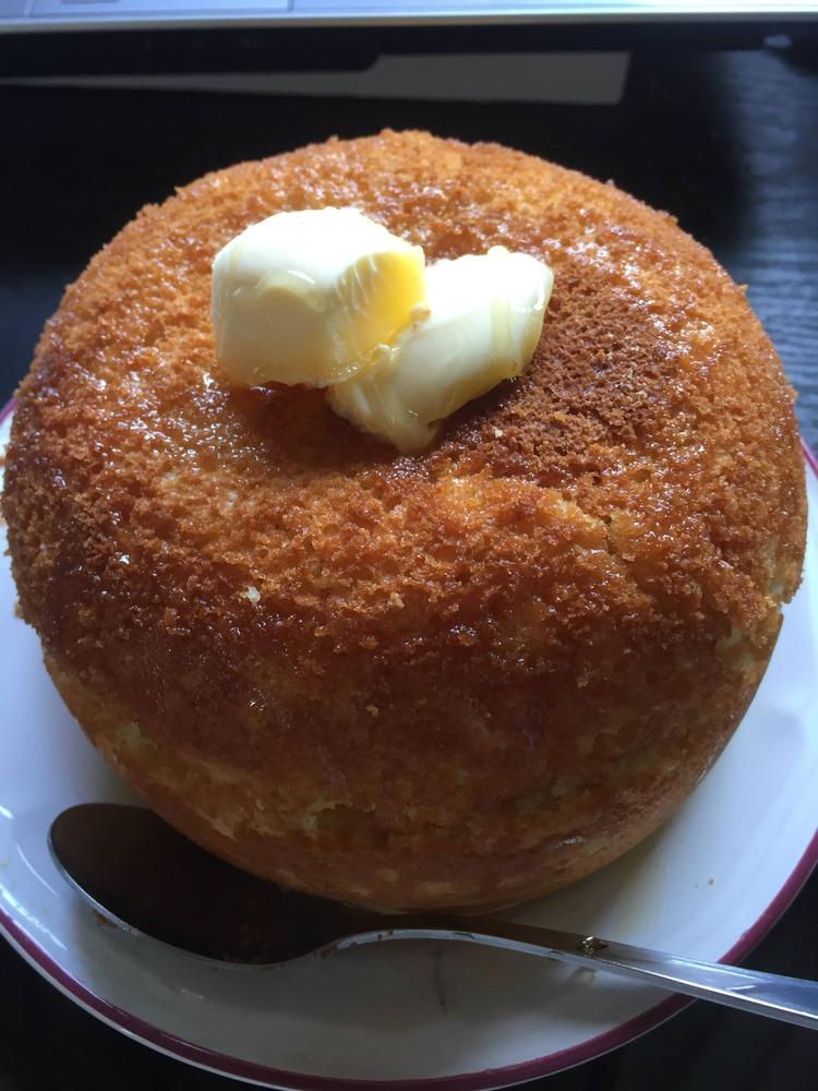 【画像】巨大ホットケーキ出来たぞ